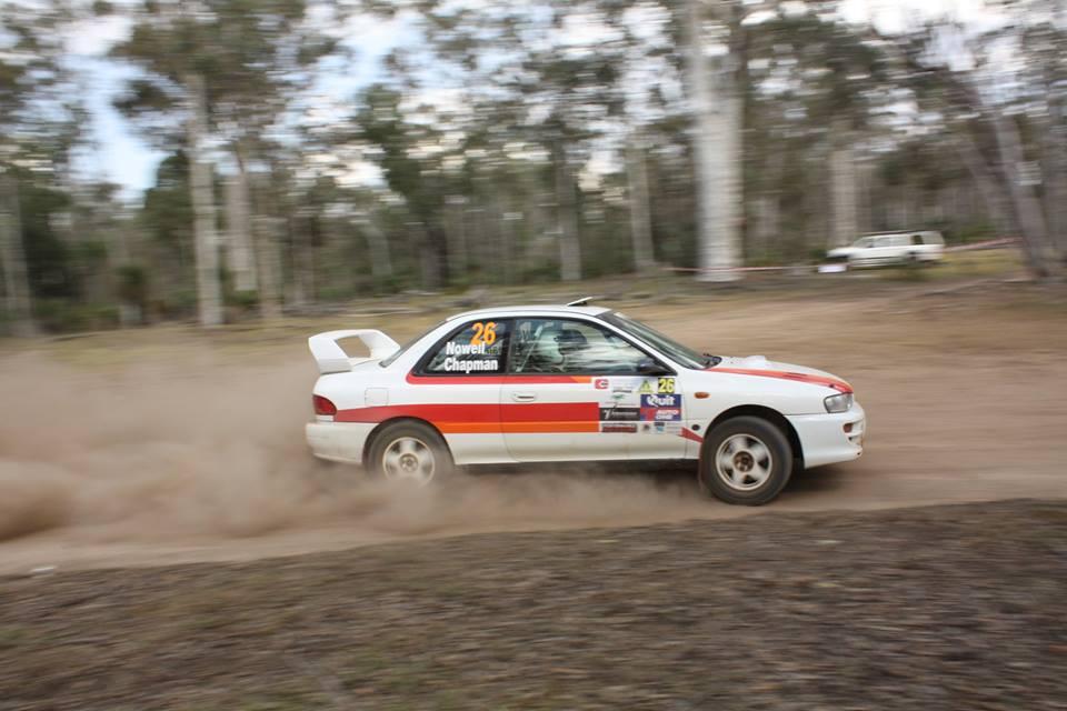 Subaru Impreza WRX Rally Car