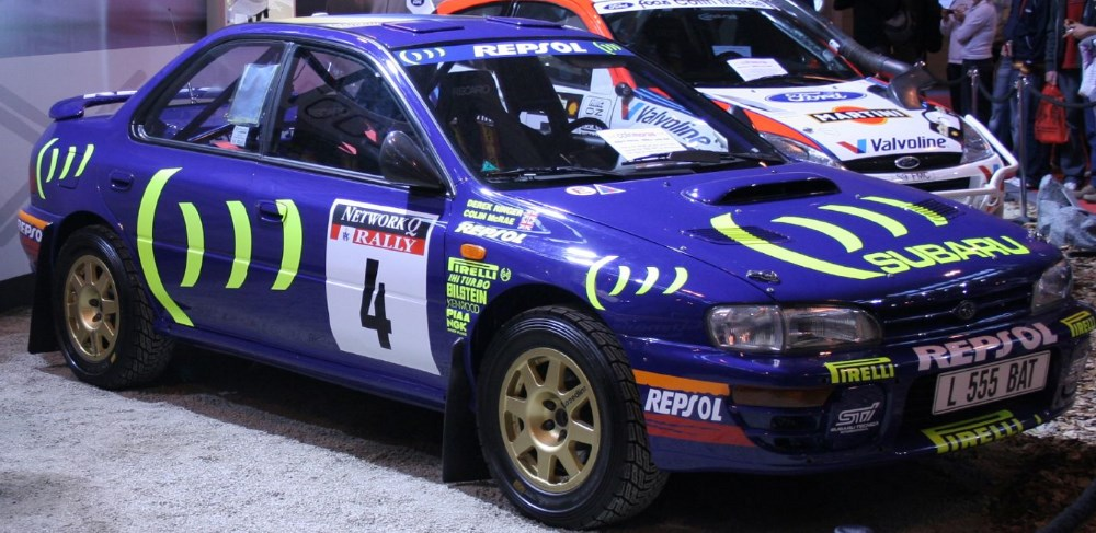 Impreza WRX Rally Car