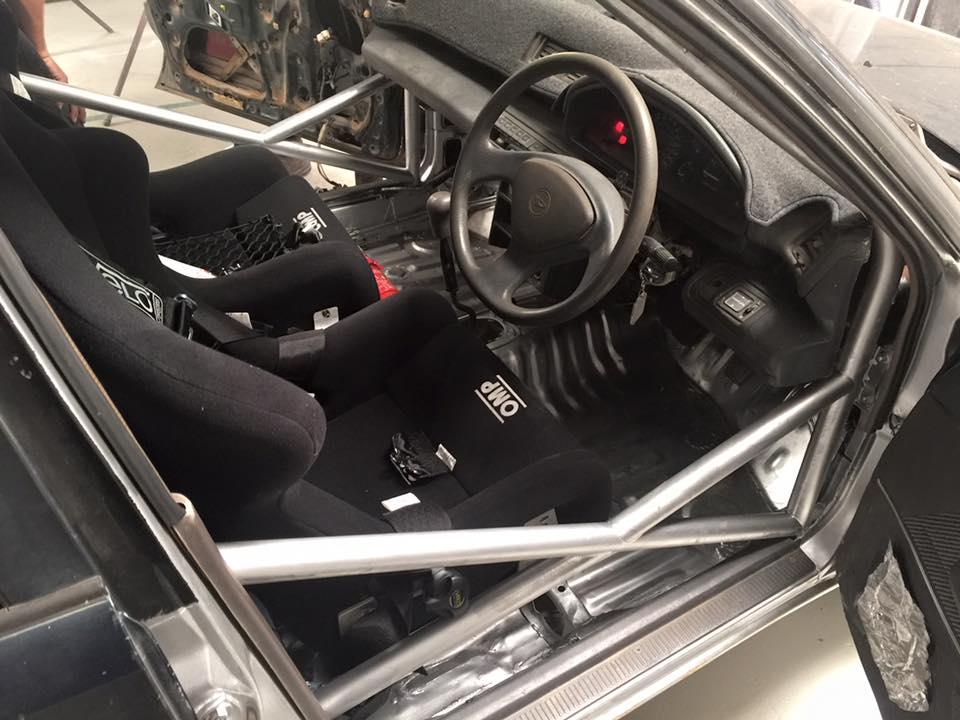 daihatsu applause rally car build part 3. Black Bedroom Furniture Sets. Home Design Ideas